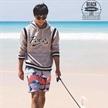 男模趙磊出鏡《GQ》新刊大片 演繹沿海而居的有趣生活