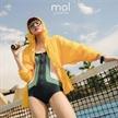 李芙瑶最新时尚运动大片 时髦网球少女养成记