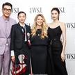 超模何穗与雎晓雯出席《出色WSJ》创刊晚宴