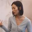 劉雯現身ERDOS鄂爾多斯品牌服裝店