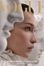 Bella Hadid出鏡<Vogue>四月封面大片