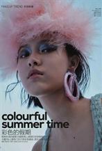 趙佳麗出鏡六月號Vogue China美妝大片