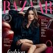 超模Alessandra Ambrosio<時尚芭莎>7月封面