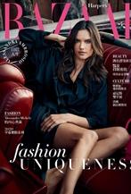 超模Alessandra Ambrosio<時尚芭莎>7月封面面