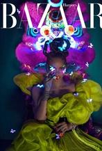 哈雷娜登中国<时尚芭莎>8月封面大片