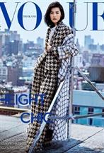超模刘雯登泰国版<Vogue>封面大片