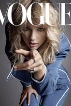 Taylor Swift登上美國版<Vogue>9月刊封面