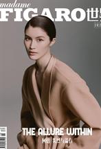 何穗登<Madame Figaro Hommes>十月刊封面