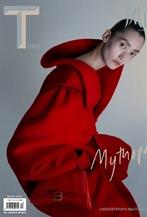 張麗娜演繹T Magazine 十月刊封面大片
