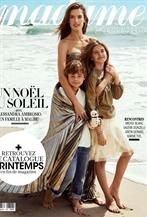 超模AA登<Madame Figaro費加羅>十二月刊封面
