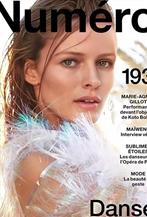 Edita Vilkeviciute拍攝<Numéro >5月刊封面