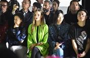劉雯受邀出席Angel chen紐約時裝周發布會