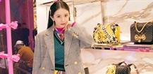 杨幂出席Versace北京新店开业活动