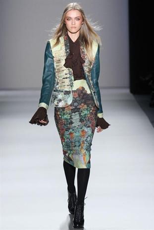 2012秋冬紐約時裝周 Nicole Miller