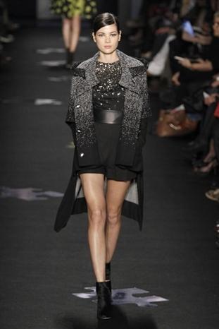 2012秋冬紐約時裝周 Diane von Furstenberg