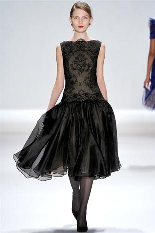 2012秋冬紐約時裝周 Tadashi Shoji