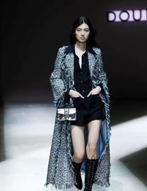 新面孔模特中國時裝周走秀合集