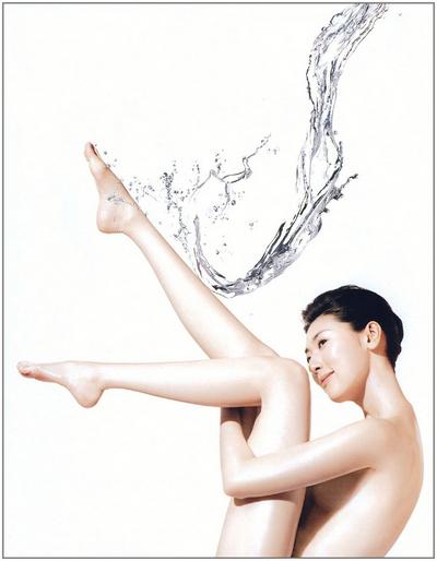 模特要善待自己的肌肤