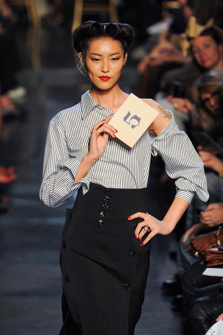 为数不多成功走向国际舞台的新生代超模 刘雯