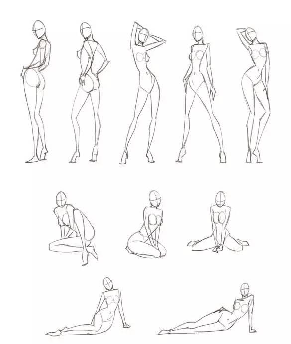 如何学习时装手绘效果图