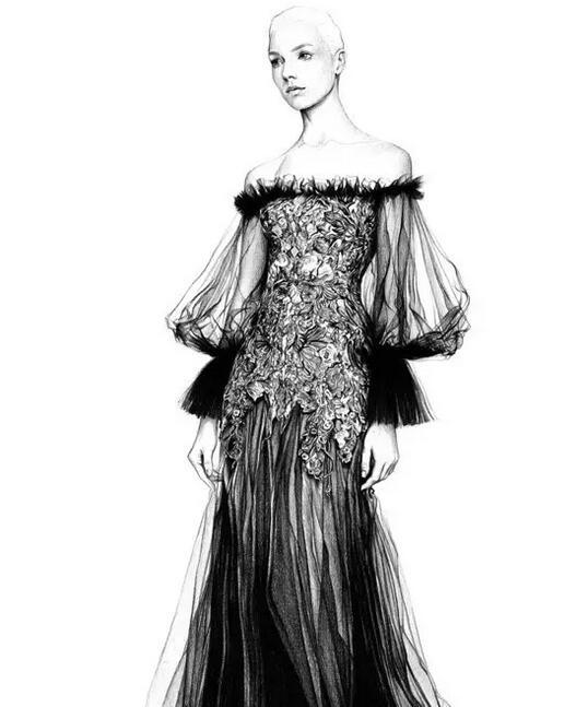 流行元素,款式图,手绘图,街头流行,设计交流,陈列指导,服装搭配