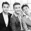 中國三大男模同框 亞洲一哥趙磊實力搶鏡