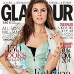 女星艾莉森登《Glamour》封面