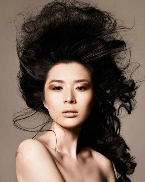 中国时尚2012年度最佳职业时装模特女候选人图片