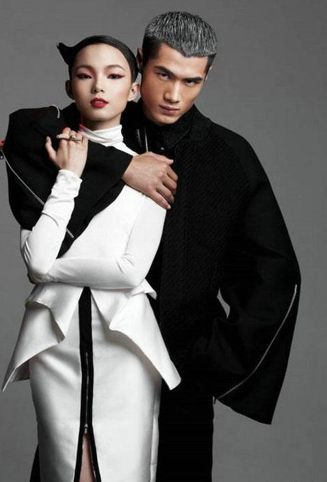 中国时尚大奖2012年度最佳职业时装男模特候选人